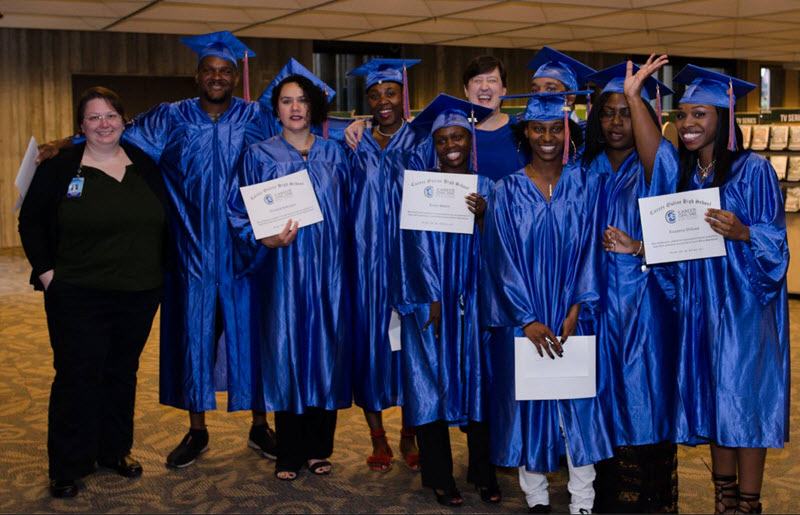 Orange County Library holds first graduation ceremony for Career Online High School