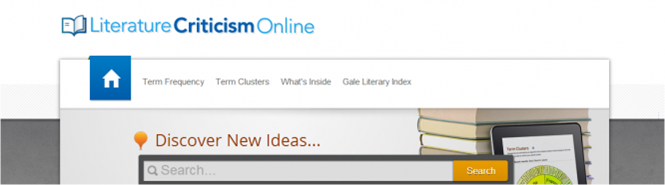 Gale Artemis: Literary Sources and Literature Criticism Online Update